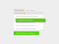 UI Add Strategic Audience