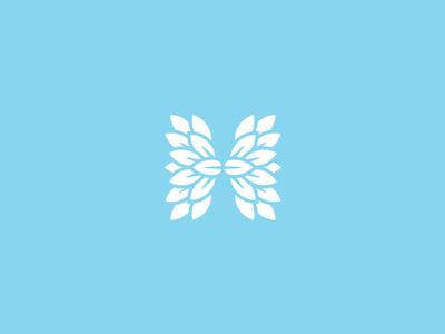 H Plastic Surgery + Aesthetics feminine surgery plastic letter leaves blue h monogram leaf
