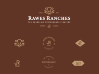 Rawes Ranches Logo + Brand Assets