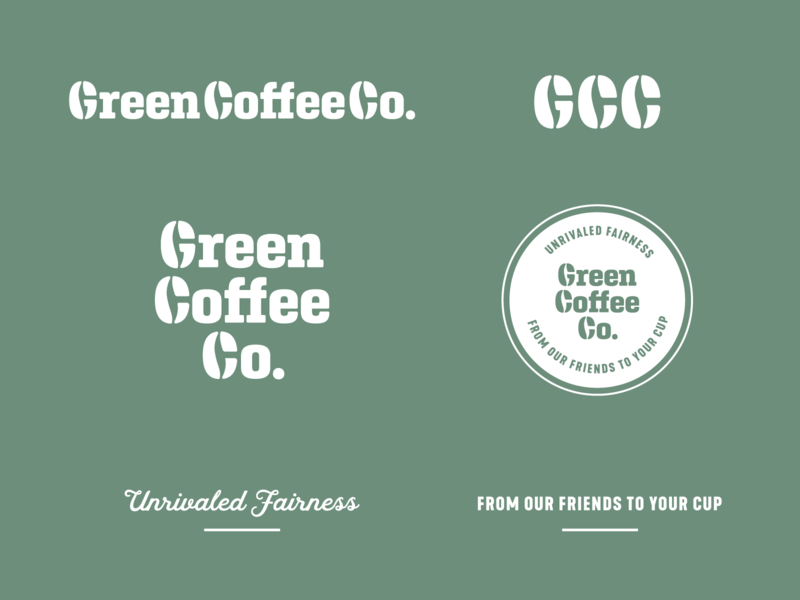Green Coffee Co. Brand Assets WIP green coffee