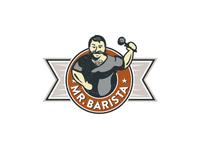 Mr Barista Logo
