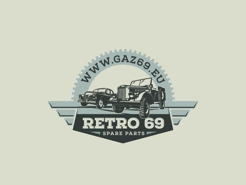 Logo Design Of Vintage Soviet Cars By Felix Baky Dribbble Dribbble