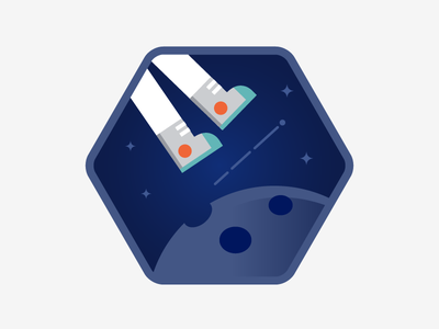 Space Walk badge