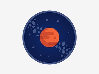 Mars badge