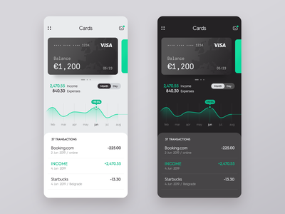 Banking App application financial app financial mobile android ios business finance cards bank card money banking bank app design app