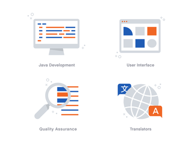 Team Icons v2 interface user ui translators translation qa icons icon team development java