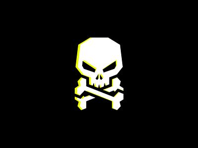 Skull mark illustration dead pirate head skull