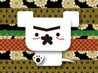 Kabuki-ish make-up