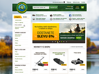 Fishing ecommerce - full view