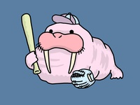 Walrus Ready to go Baseball