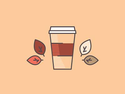 Hot Drinks! pumpkin spice vector art vector illustrator illustration autumn pumpkin latte fall coffee