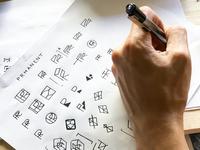 Brand Design Sketches