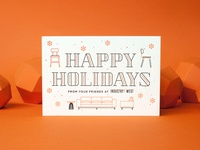 Industry West 2017 Holiday Card