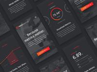 ProFile Athletes User Interface Design