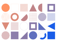 Shape, Color, Pattern and Depth