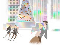 Illustration set for New Year