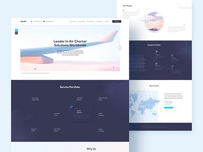 UX/UI for KeyJet flat minimal website illustration ui design ux research web ux ui design