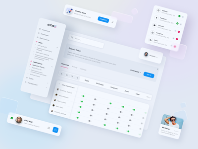 Qream for Avnos. minimal website illustration ui design ux research web ux ui design