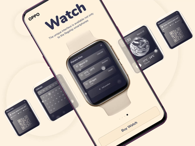 Oppo Concept by Qream concept design animation branding redisign concept design