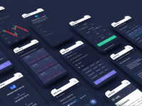 UX/UI for CryptoExchange platform