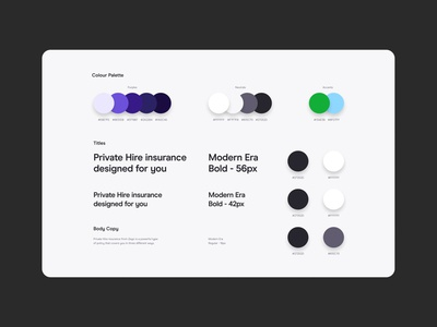 Style Guide - Colours & Typography website app brand identity vector digital design graphic design logo design branding project ui fonts type typogaphy palette colours guidelines brand style style guide