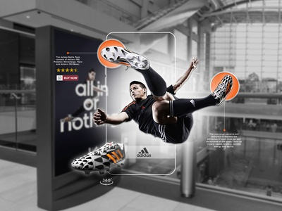 Adidas - All In Or Nothing - Augmented Reality (AR) Concept