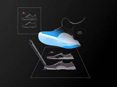 FootLocker Concept Design - Create Your Own Sneaker/Shoe
