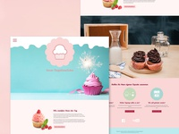 cupcake bakery website draft