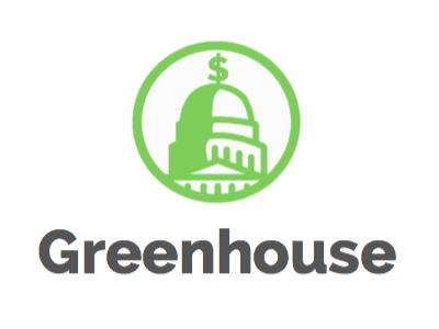 Greenhouse WIP green building capitol washington dc government usa logo icon