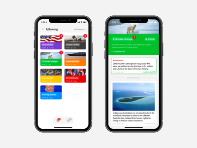 Winno iOS news app