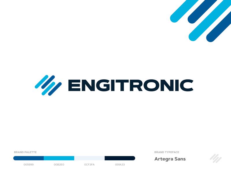 Engitronic Logo design engine car automotive brand identity branding logo design logodesign logotype logo