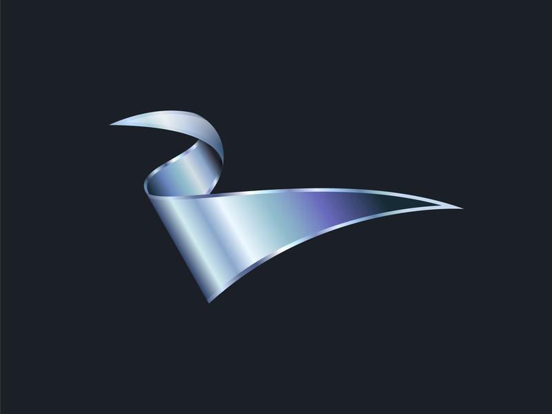 American Eagle gradient vector illustration bird abstract design abstract logo abstract eagle logo design logo