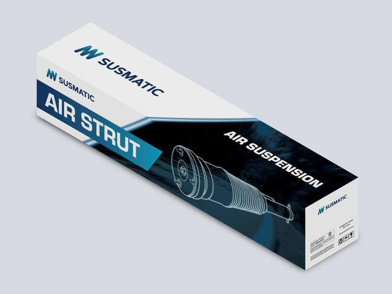 Susmatic Air Suspension Packaging box automotive suspension car packaging design packaging