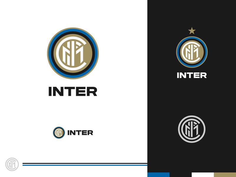 Rebranding Serie A - Inter serie a italy club soccer football internazionale inter branding rebranding crest logo design logo