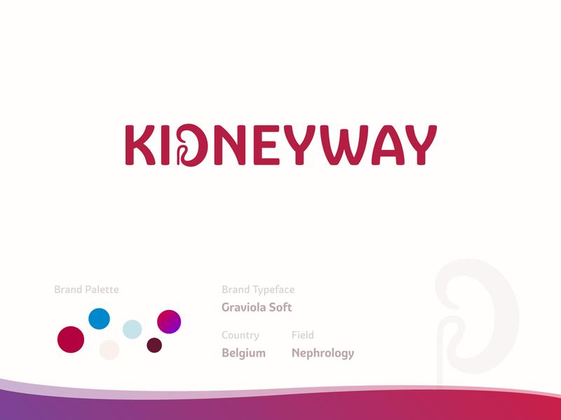 KidneyWay Branding medical medicine nephrology kidney branding logo design logo