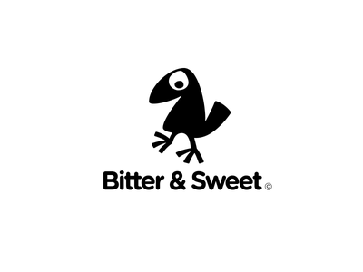 Bitter & Sweet branding custom collection graphic design design symbol logotype identity typography logo