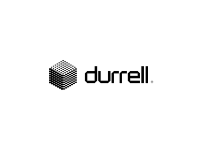 Durrell cube kostadin brvnd creative design development app software typograhpy mark logotype logo