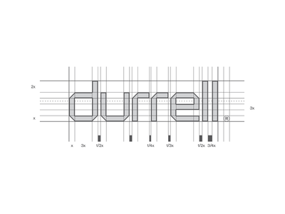Durrell typography