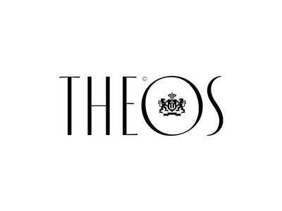 Theos Logotype icon vector red illustration inspiration creative graphic design collection kostadinov behance design symbol logotype identity typography mark brvnd kostadin logo