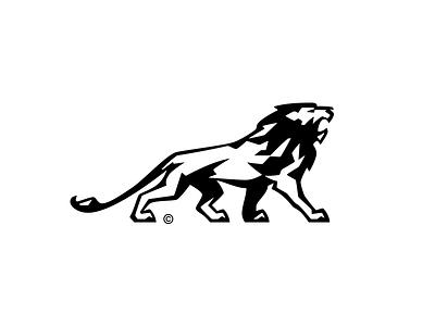 NHS Creative Lion lion branding project inspiration custom graphic design collection behance design symbol logotype identity typography mark brvnd kostadin logo