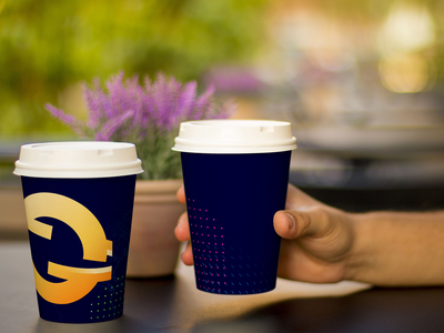 Coffee Cup Design for Fintech
