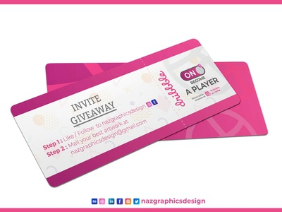 Dribble Invite | Naz Graphics Design India