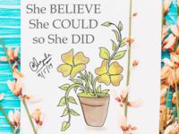 Floral Artwork | Digital Painting | Naz Graphics Design