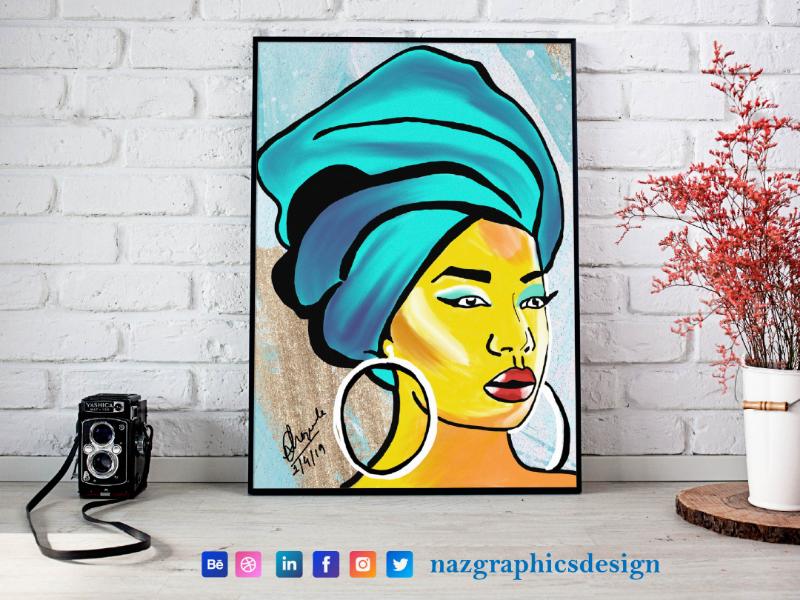 Digital Painting | Naz Graphics Design | India graphics design vector art digital painting