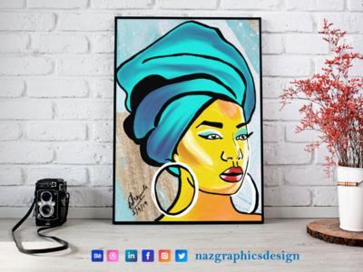 Digital Painting   Naz Graphics Design   India