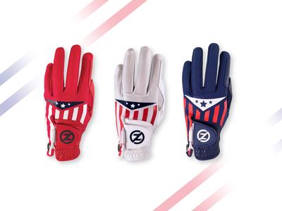 Americana Golf Glove - Design