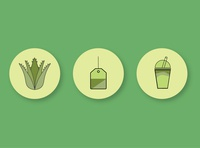 OP Nutrition Icon Set