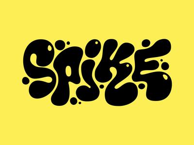 Spike blob style logo