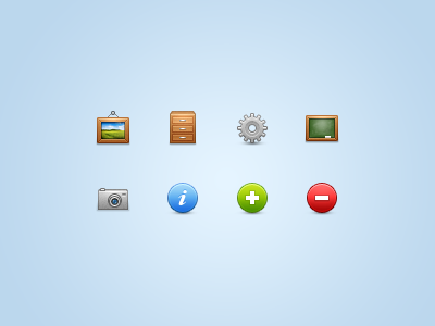 Moar icons!