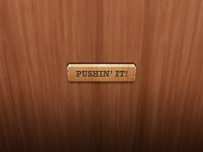 Wooden Button wood 3d button ui interface gui freebie download free psd